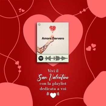 Per San Valentino vi dedichiamo la playlist giusta tutta da vivere in una serata romantica ♡  Apri l'app Spotify, scannerizza il codice e godetevi un momento tutto vostro.  #photoislandstore #sanvalentinesday #musica #qrcodespotify